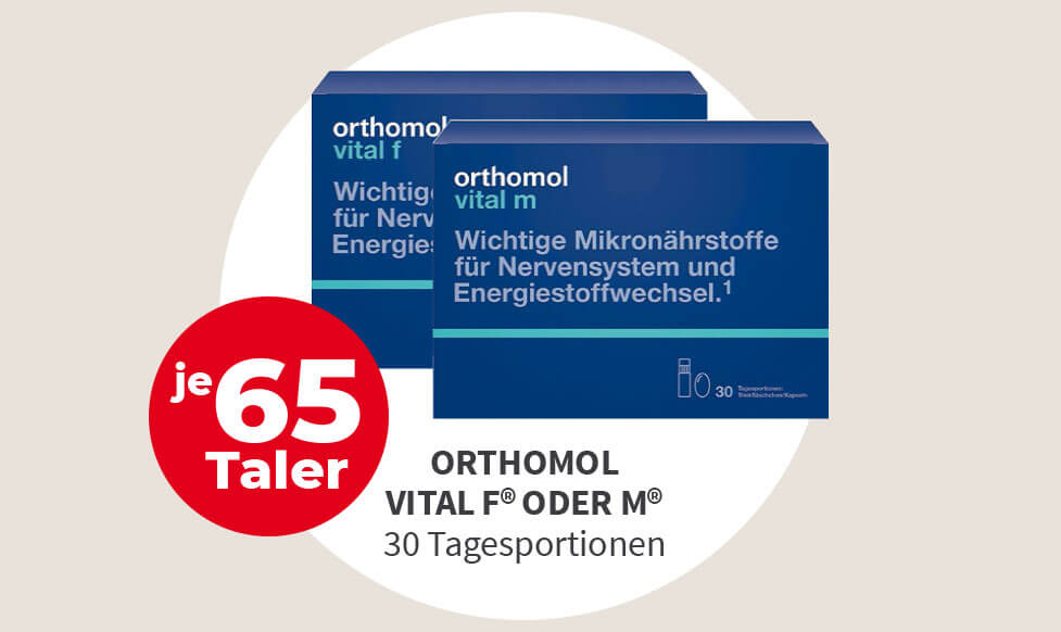 orthomol vital m und vital f