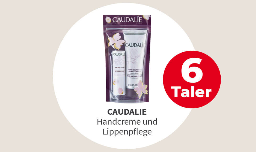 Caudalie Handcreme und Lippenpflege